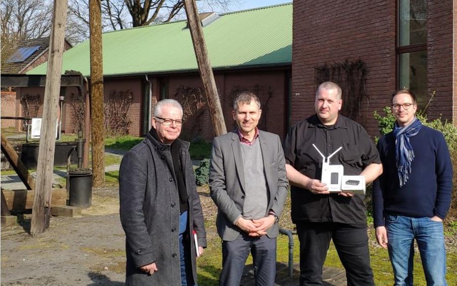 Gemeinde Wietze erhält Freifunk-Router aus Förderung