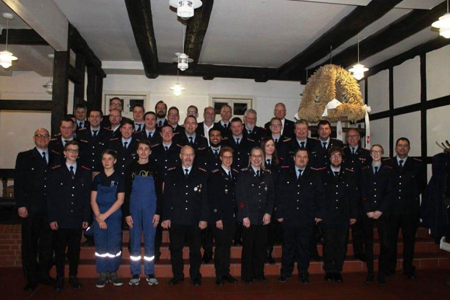 Jahreshauptversammlung der Ortsfeuerwehr Lachendorf