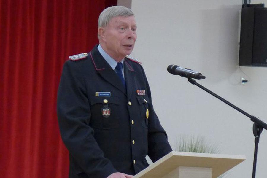 43. Dienstversammlung des Kameradschaftsbundes ehemaliger Brandmeister im Landkreis Celle – Vorsitzender und Stellvertreter wiedergewählt