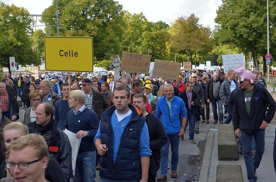 Landwirte rufen zu Demonstration gegen die Verschärfung der Düngeverordnung auf
