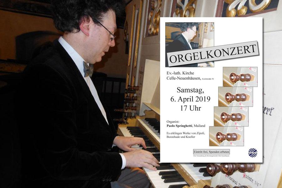 Mailänder Organist zu Gast in der Neuenhäuser Kirche