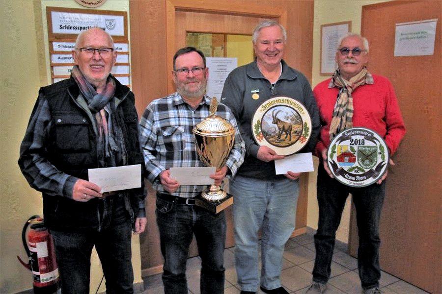 Neuer Seniorenbester der Schützengemeinschaft Altenhagen ist Günther Schülke