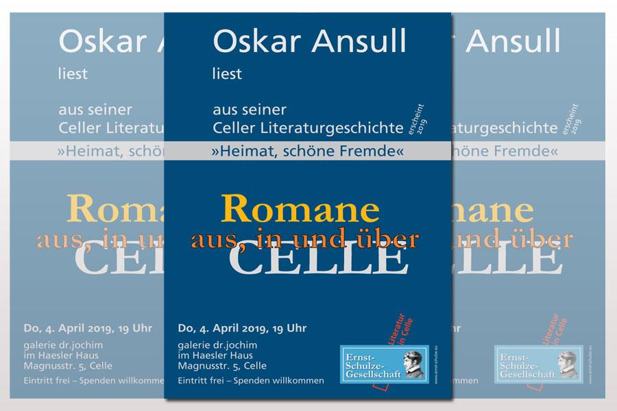 Oskar Ansull liest aus seiner Celler Literaturgeschichte: »Heimat, schöne Fremde«