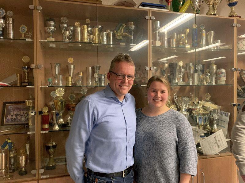 Schwimmsparte des SV Nienhagen – Inken Fritzsch neue 1.Vorsitzende