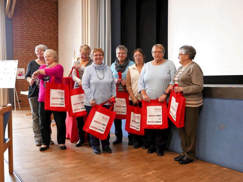 """SoVD Ortverband Nienhagen feierte""""100 Jahre Frauen im SoVD"""" und """"100 Jahre Frauenwahlrechte"""" am Weltfrauentag"""