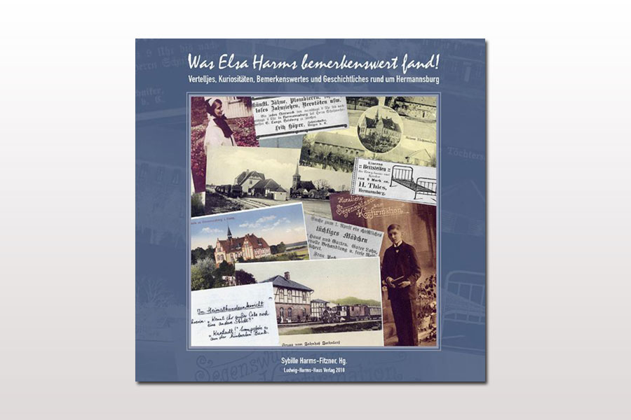 """Sybille Harms-Fitzner stellt das neue Buch """"Vertelljes oder Was Elsa Harms bemerkenswert fand!"""" vor"""