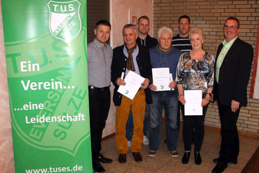 TuS Eversen/Sülze mit Mitgliederzuwachs – Verein sehr gut aufgestellt