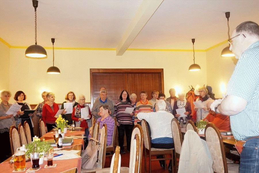 """Viele Ehrungen beim Gesangverein """"Liedertafel von 1913 Frohsinn"""""""