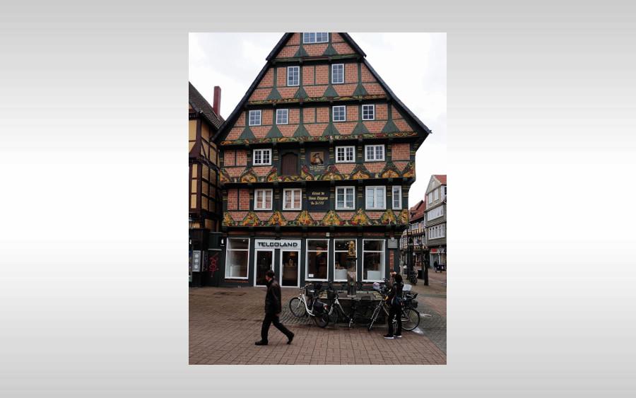 Vortrag im Bomann-Museum: Die Ornamente des Hoppener Hauses in Celle und deren ikonografische Deutung