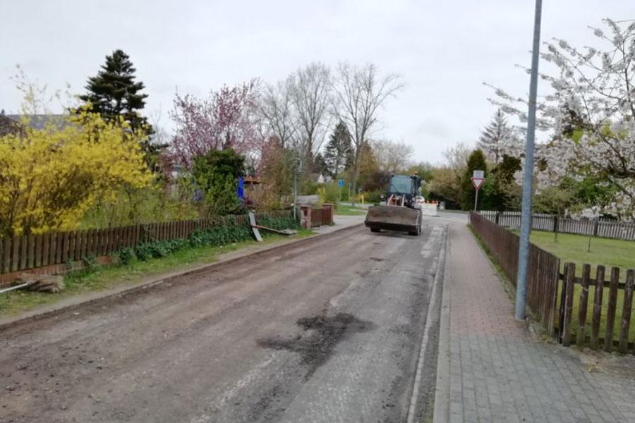 Ahnsbecker Straßenausbauprogramm vor der Vollendung