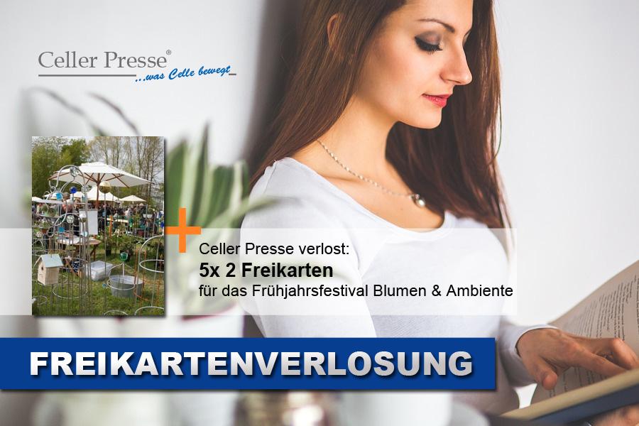 """Freikartenverlosung """"Blumen und Ambiente"""""""