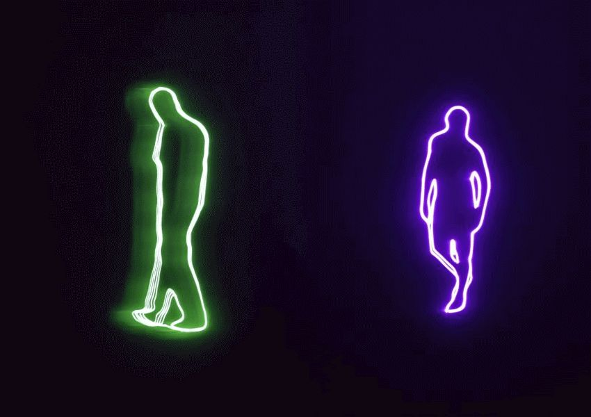 """Der Künstler war anwesend – Sonntagsführung durch die Ausstellung """"Laser Works"""" im Kunstmuseum Celle"""