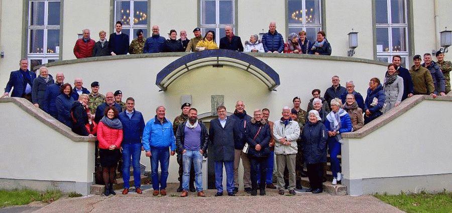 Eine starke Beziehung und besondere Verantwortung! – Gäste aus der Partnerstadt Hendrik-Ido-Ambacht in Bergen