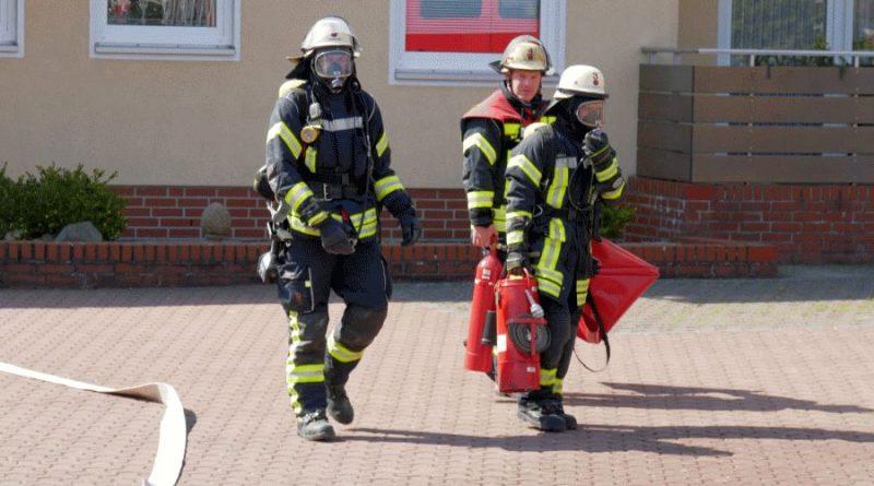 Entstehungsbrand in Seniorenwohnheim!