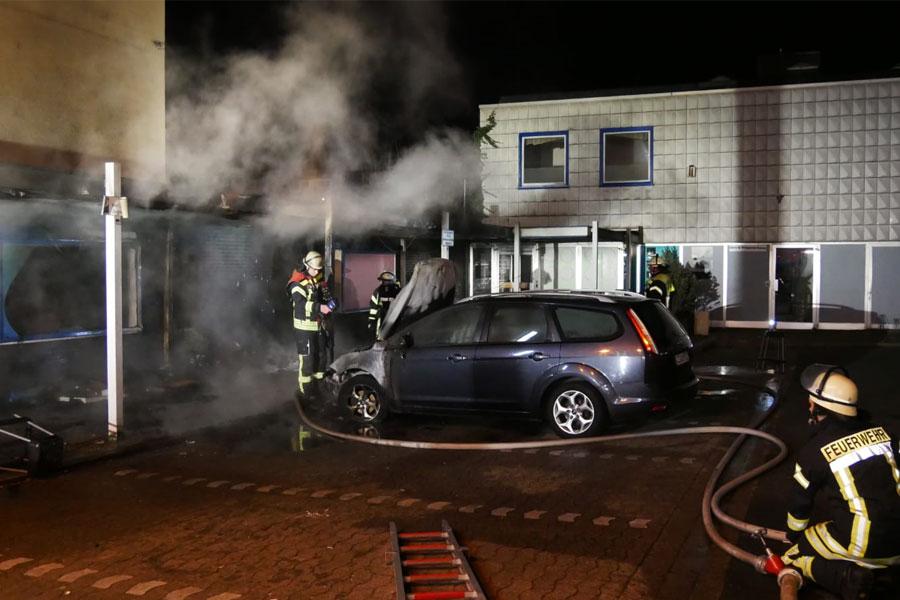 Feuer in der Bahnhofstraße *** aktualisiert