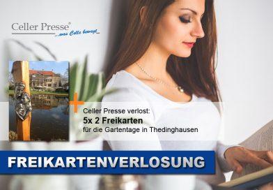Freikartenverlosung Gartentage am Schloss Erbhof