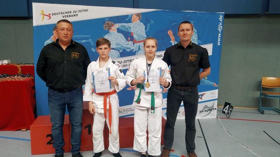 Gold für Melissa Chevalier bei den Norddeutschen Ju-Jutsu Meisterschaften