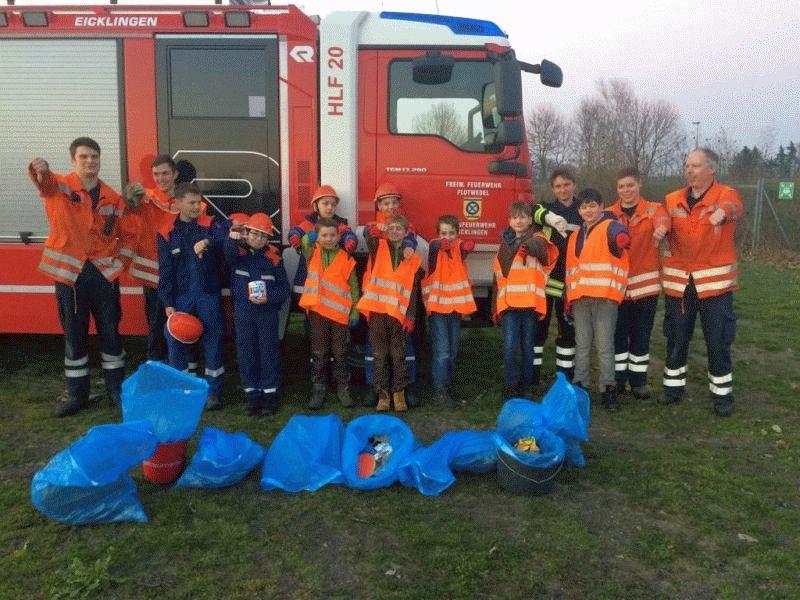 Kinder und Jugendliche beteiligen sich an Umweltaktion der Samtgemeinde Flotwedel