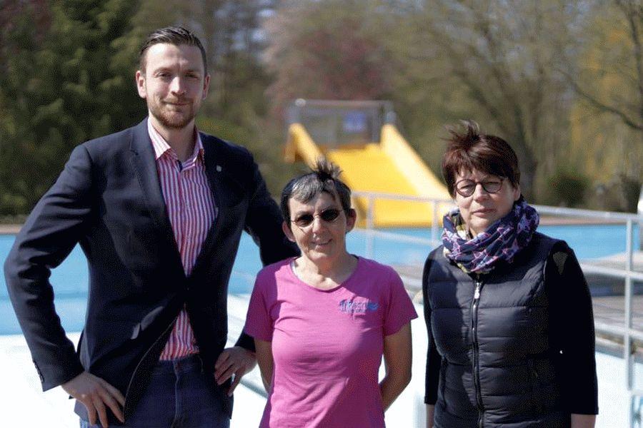 Personalkooperation zwischen Schwimmbädern – Freibad Eschede unterstützt Faßberger Waldschwimmbad