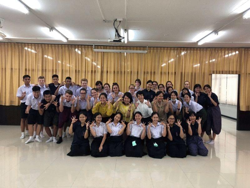 Schüler der Oberschule Westercelle und des Ernestinums reisen nach Thailand