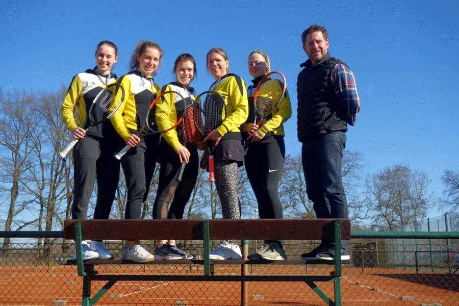 Tennis: Punktspielstart der Nordliadamen Tennis vom VfL Westercelle