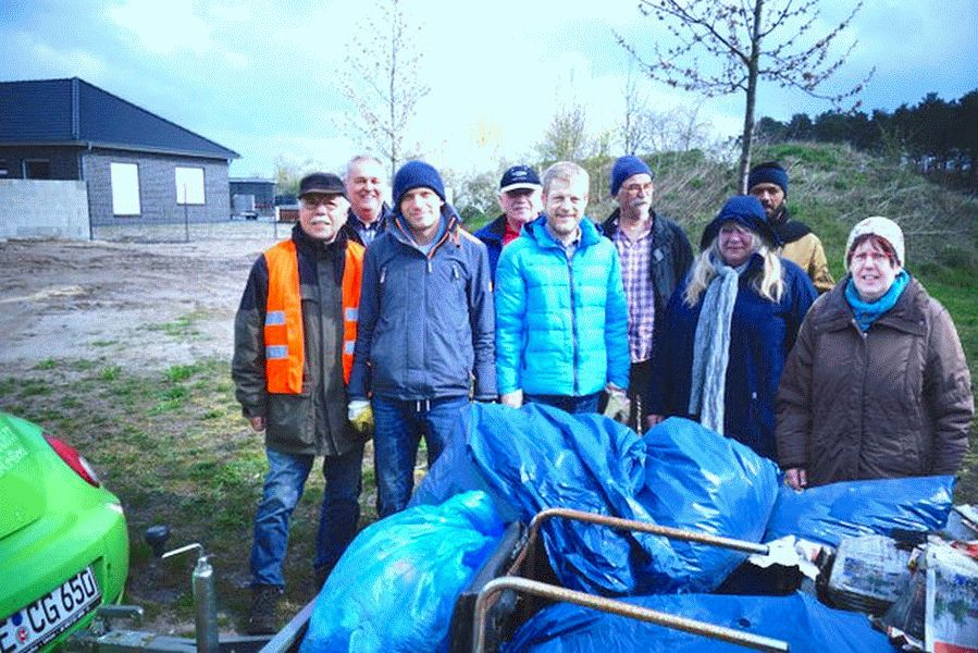 Umweltaktion der Unabhängigen Bürger -UB- in Lachendorf