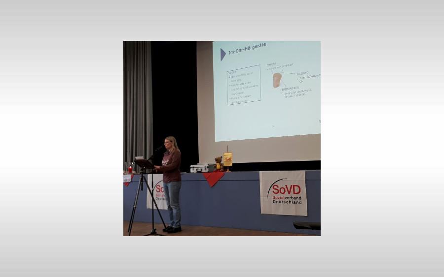 """""""Besser hören – besser leben"""" – Vortrag über Hörakustik beim Info-Nachmittag des SoVD Ortsverbandes Nienhagen"""