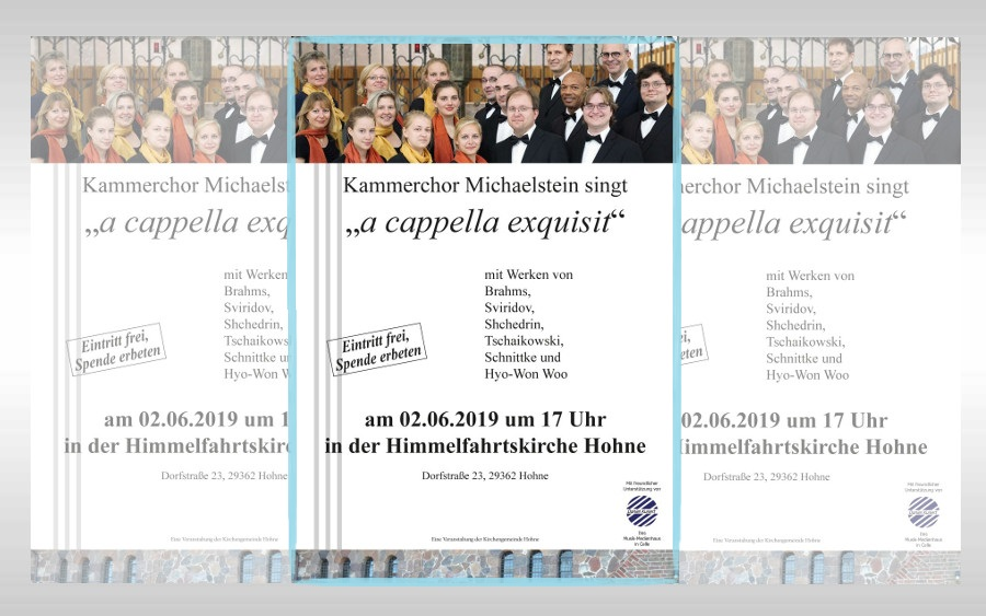 """a cappella exquisit"" in Hohne"