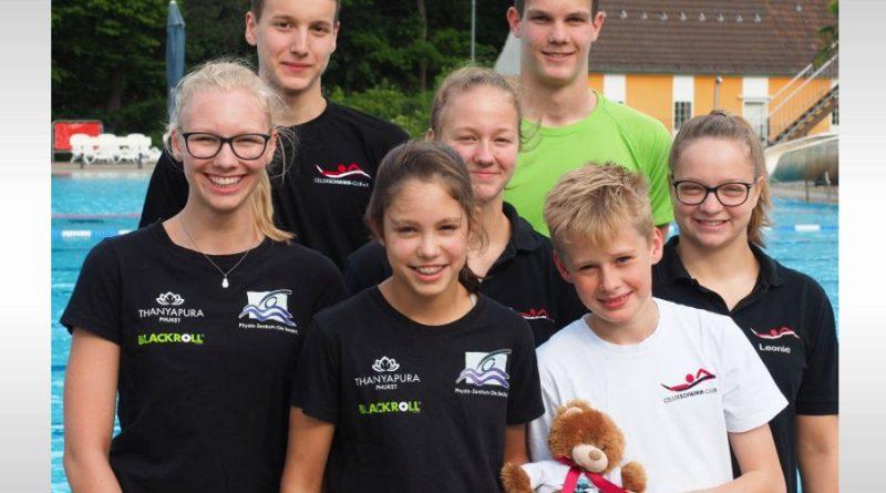 7 Celler Schwimmer bei Deutschen Jahrgangsmeisterschaften