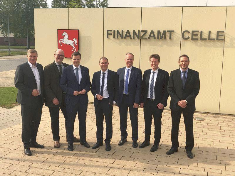 Arbeitskreis Haushalt der CDU-Landtagsfraktion zu Besuch im Landkreis Celle.