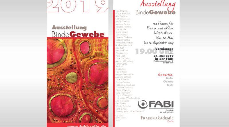 Ausstellungseröffnung Bindegewebe in der FABI