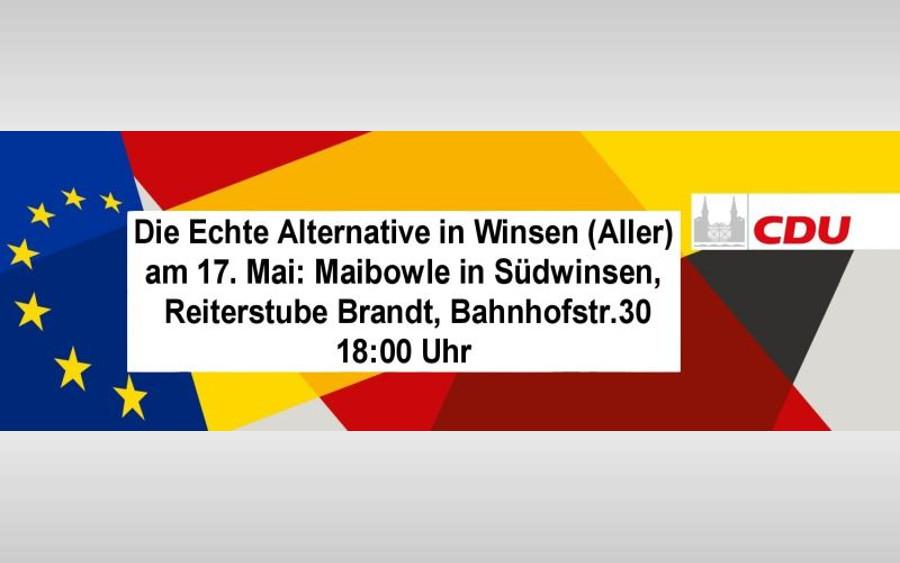 CDU lädt zur Maibowle ein