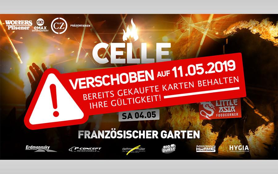 """""""Celle leuchtet"""" nun am 11. Mai im Französischen Garten"""