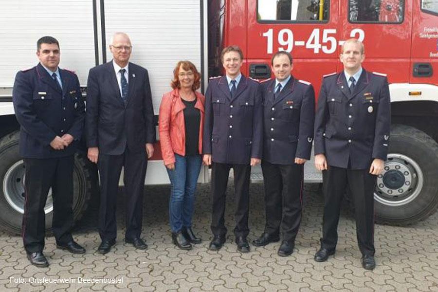 Daniel Nickel neuer stellvertretender Ortsbrandmeister in Beedenbostel