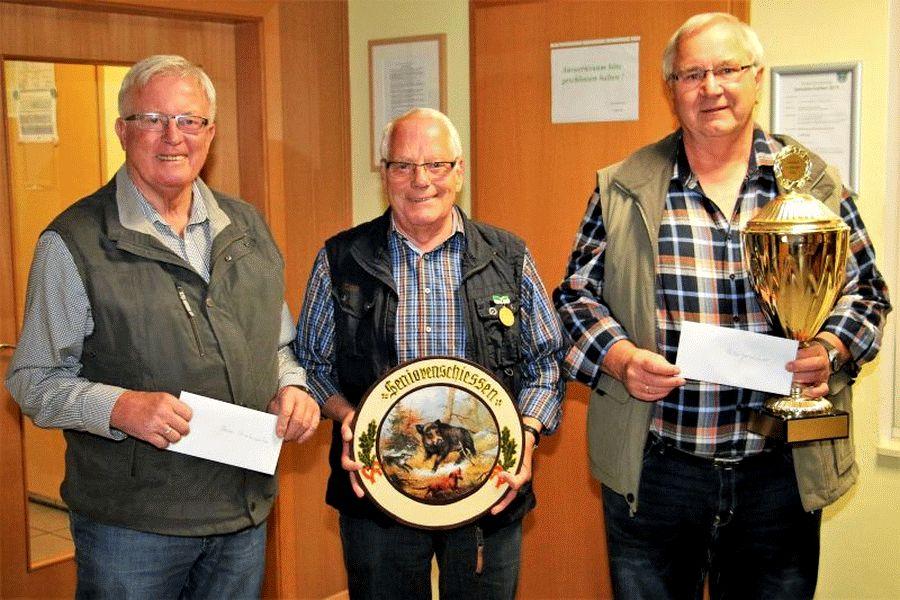 Der neue Seniorenbeste der Altenhägener Schützen ist Wilfried Marks