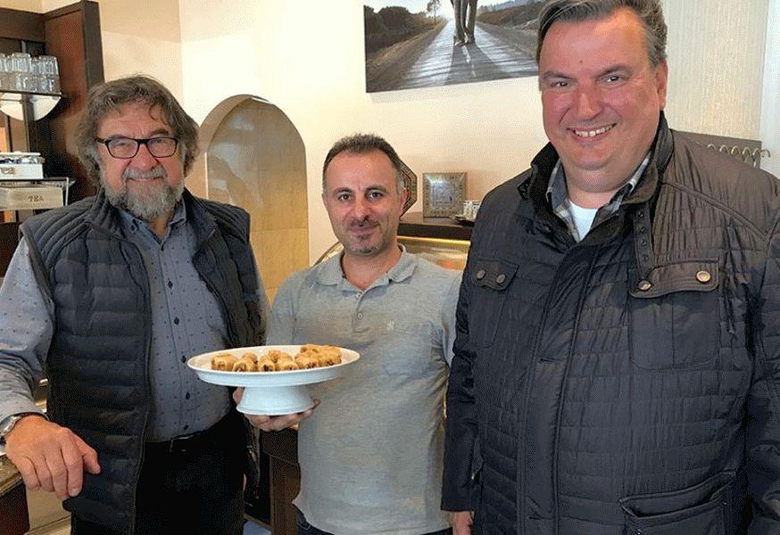Deyaa Alhejazi empfängt MIT Vorstand im Magnus Cafe – Orientalische Gastfreundschaft bereichert Celler Gastronomie
