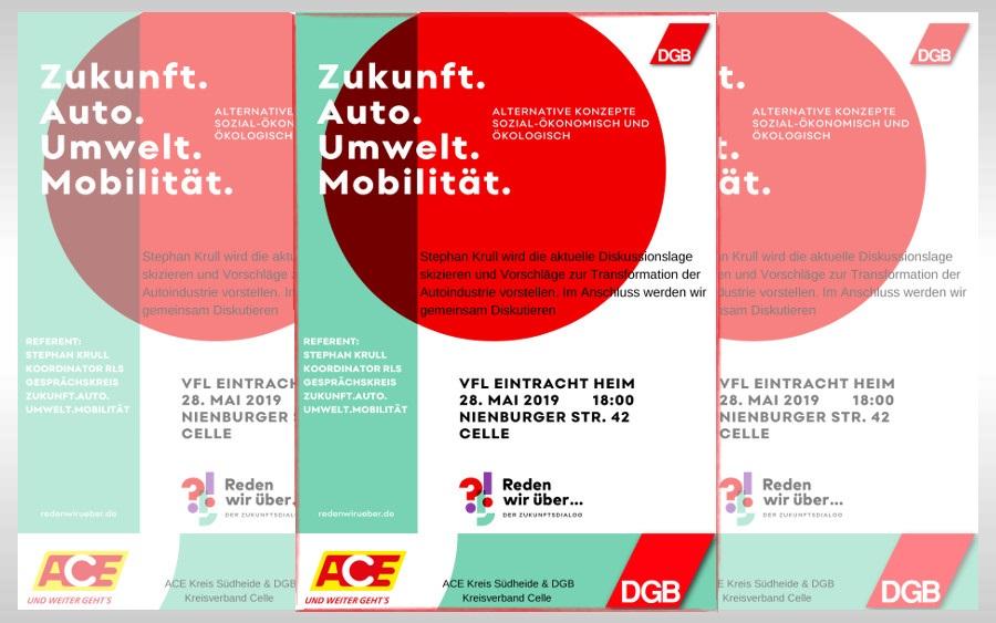 Diskussionsveranstaltung mit Stephan Krull: Zukunft.Auto.Umwelt.Mobilität