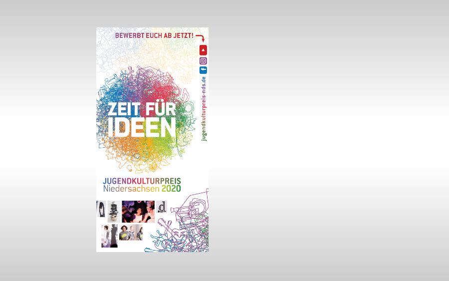 Es ist Zeit für Ideen! – Bewerbungen für den Jugendkulturpreis Niedersachsen 2020 sind ab sofort möglich
