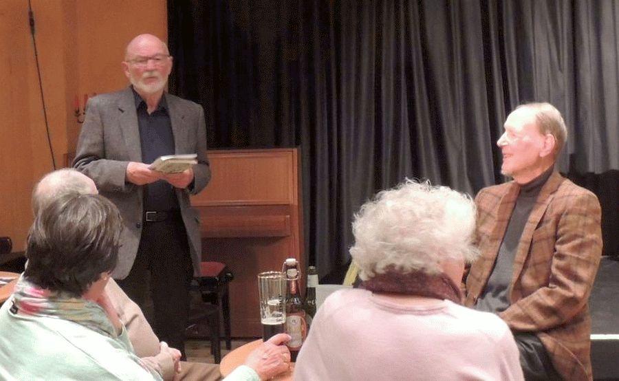 Impressionen aus Brasilien – Gerd Pfeifer las bei der Bibliotheksgesellschaft