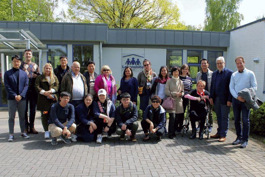 Internationaler Besuch bei der Lebenshilfe Celle