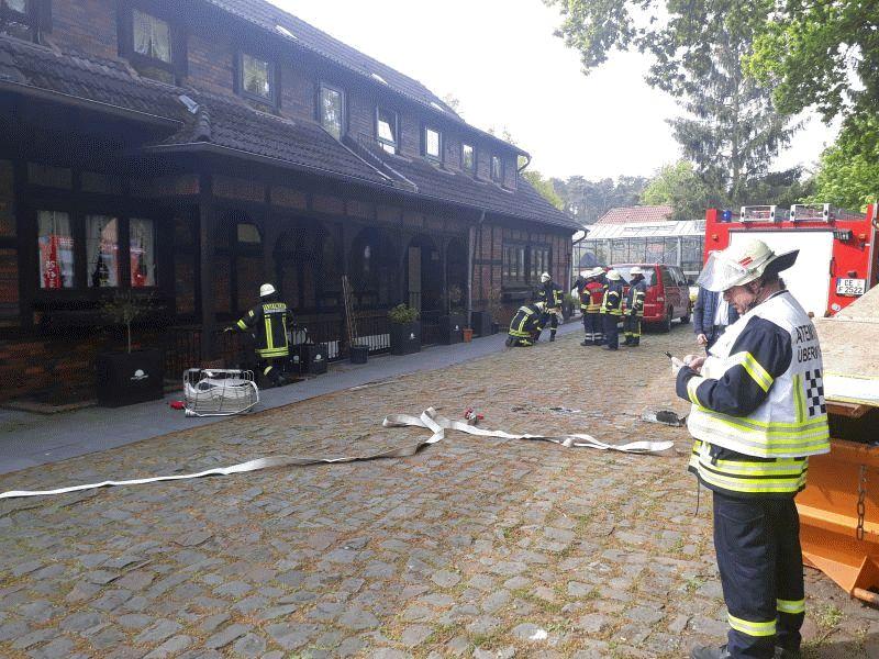Kellerbrand in einer Betreuungseinrichtung in Wieckenberg