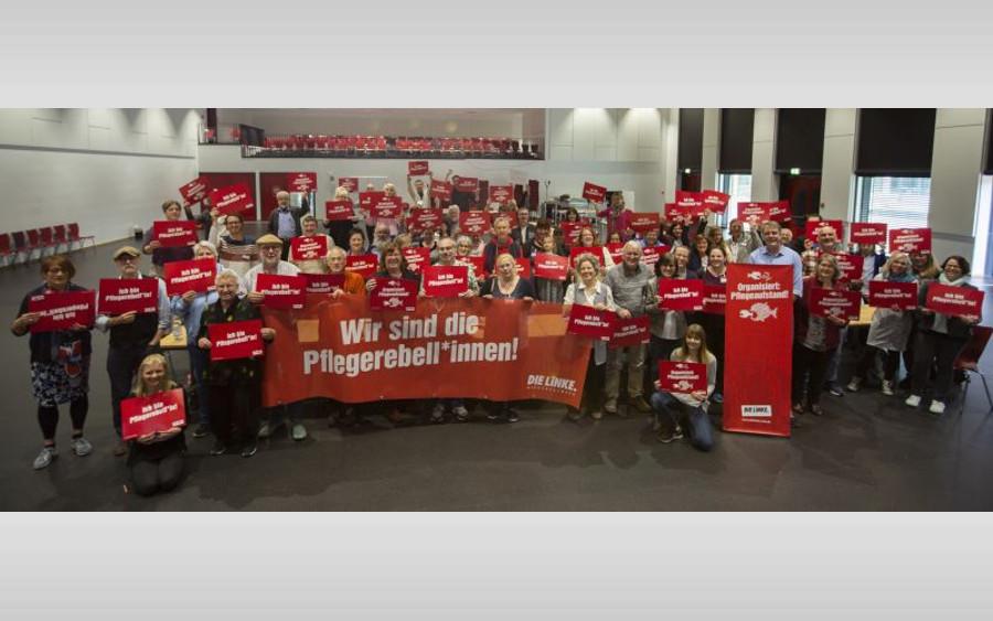 """LINKE: """"In Hannover formiert sich der Pflegeaufstand"""" – Pflegende aller Disziplinen planen Aktionen gegen den Pflegenotstand"""