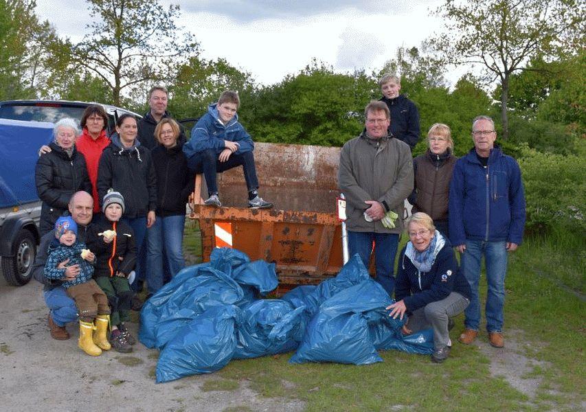Müllsammenaktion des CDU-Ortsverbandes Westercelle
