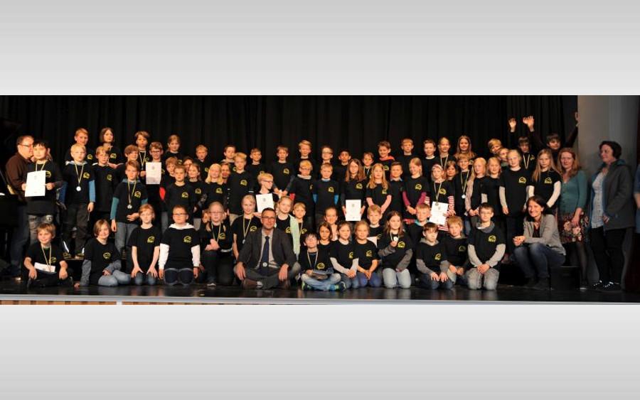 Mathematik-Olympiade für Grundschüler am CGH