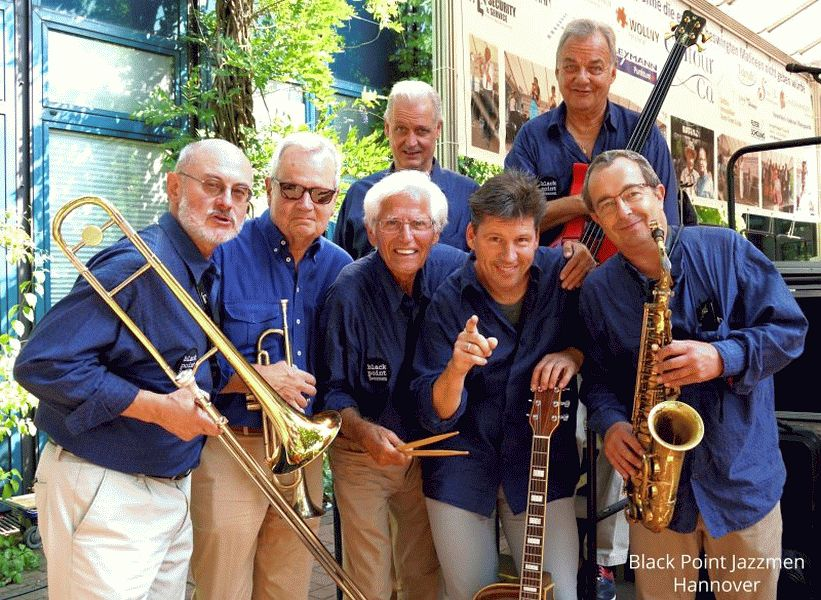 Muttertagsjazz mit den Black Point Jazzmen