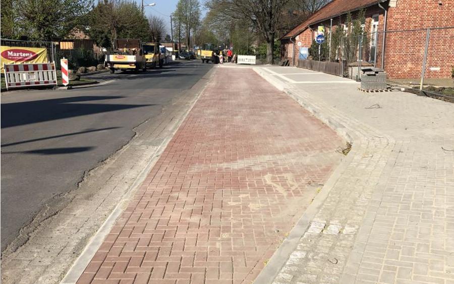 Sanierung der Schulstraße fast abgeschlossen