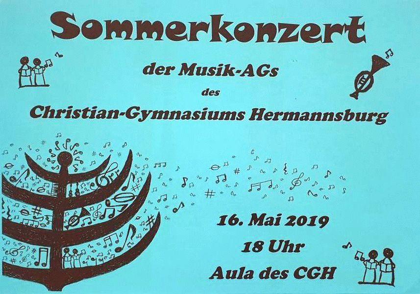 Sommerkonzert im Christian Gymnasium