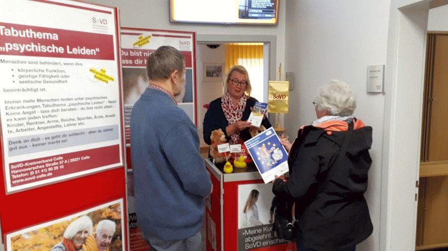 Tag der offenen Tür im SoVD-Beratungszentrum Celle