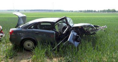 Von Fahrbahn abgekommen und schwer verletzt