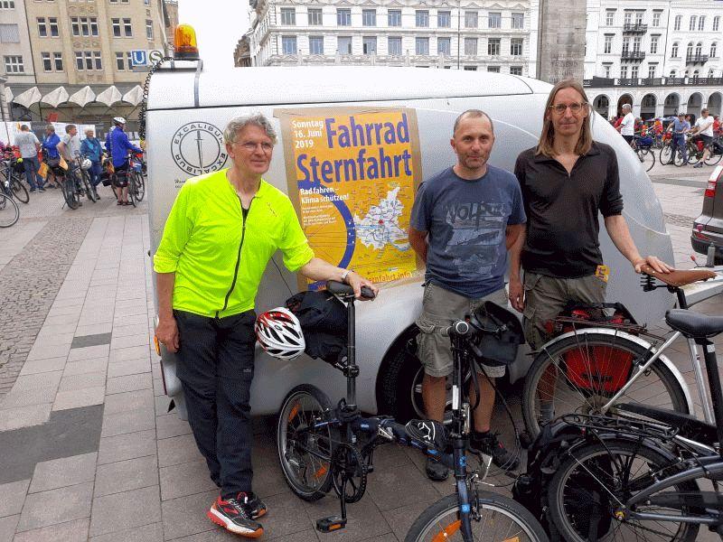 30.000 Radfahrer nahmen an der Sternfahrt teil